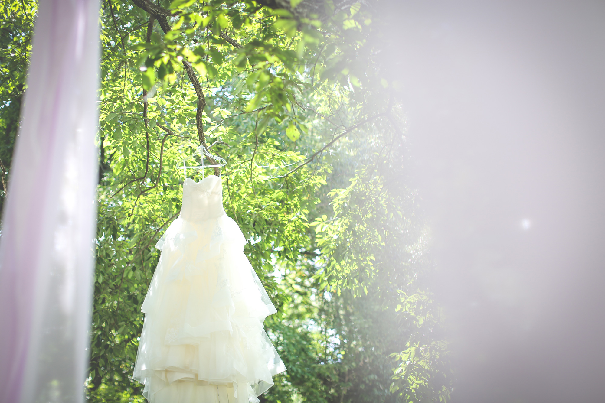 ウェディングドレス@David's Bridal