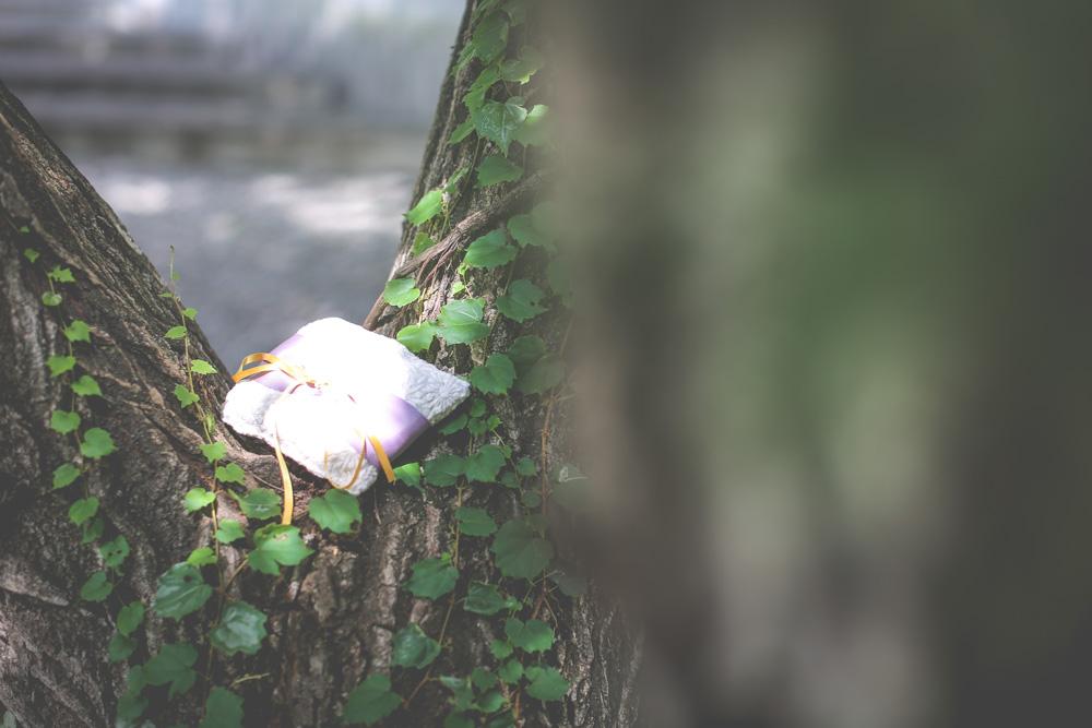 【お譲り】リングピロー(ハンドメイド)