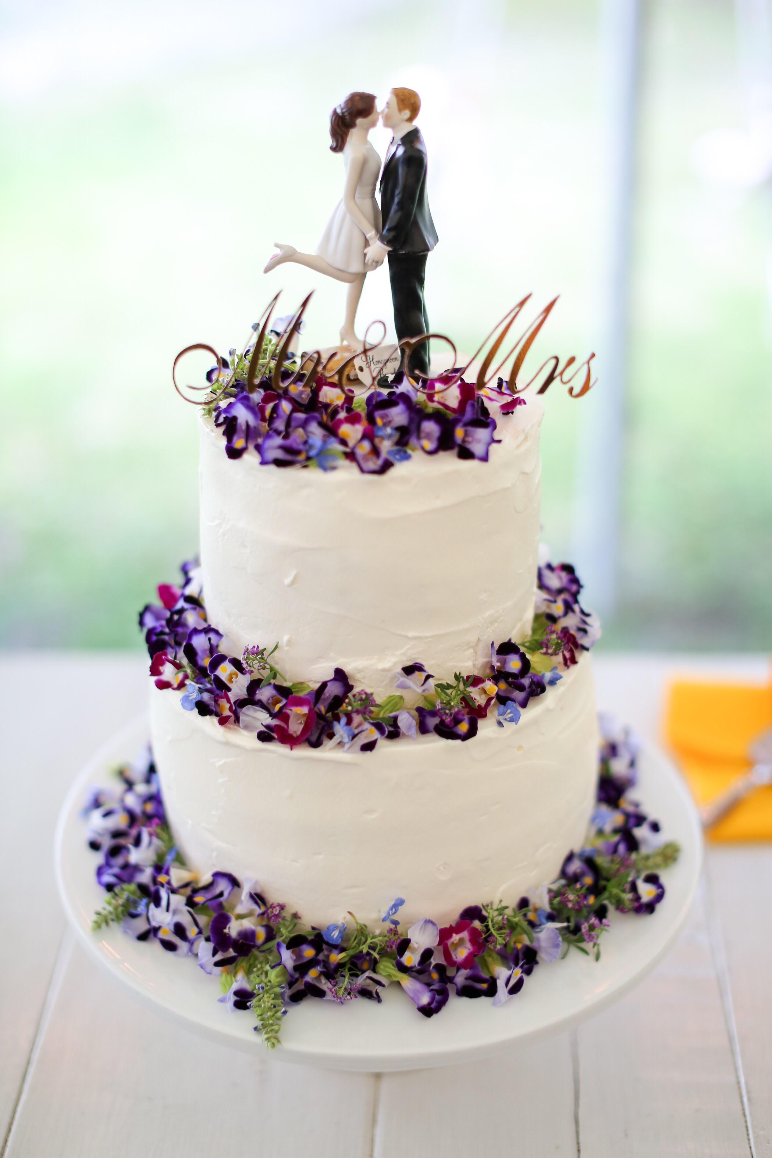 終了【お譲り】Mr&Mrsのケーキトッパー