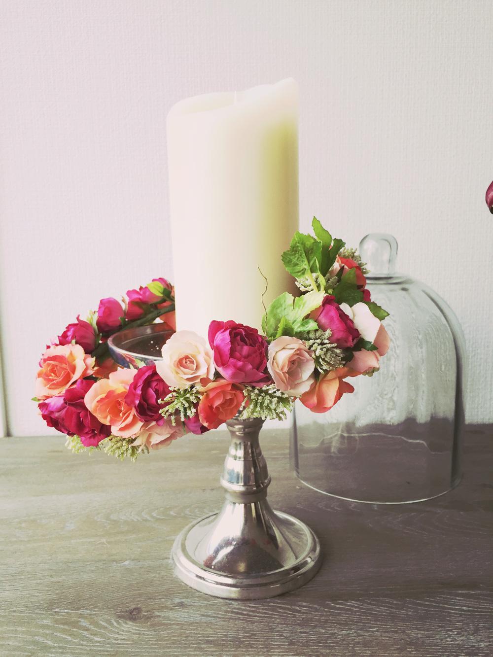 【お譲り】ピンクの花冠