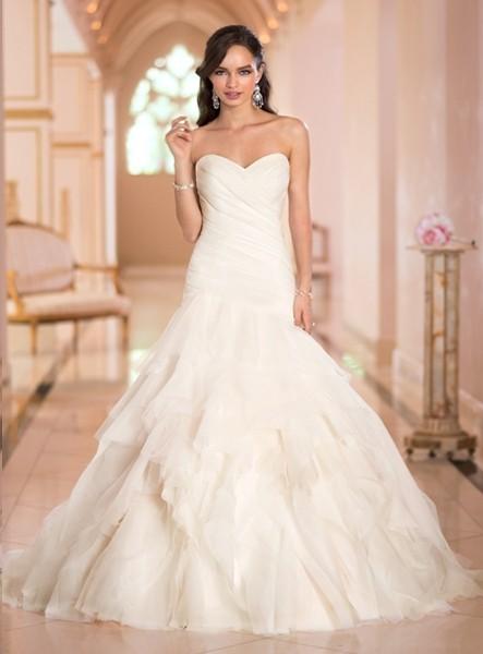 emily-mermaid-sweetheart-chapel-train-organza-wedding-dress